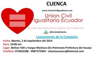 Lanzamiento de Campaña en Cuenca