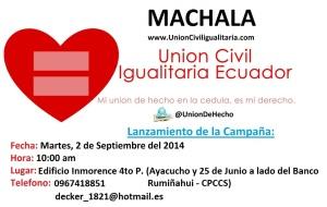 Lanzamiento de Campaña en Machala