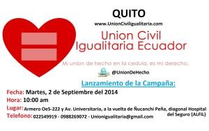 Lanzamiento de Campaña en Quito