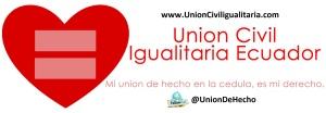 Union Civil Igualitaria Ecuador - Logo y eslogan