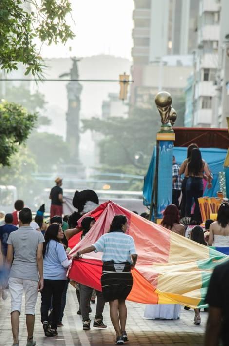 Orgullo LGBT Gay Ecuador Guayaquil 2015 - Asociación Silueta X (102)