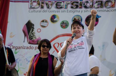 Orgullo LGBT Gay Ecuador Guayaquil 2015 - Asociación Silueta X (131)
