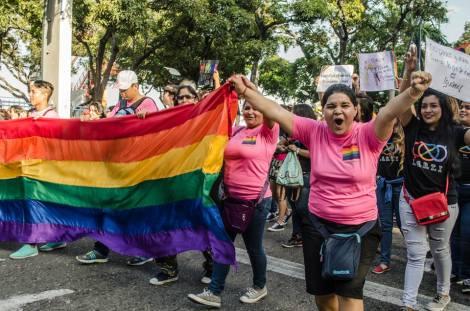 Orgullo LGBT Gay Ecuador Guayaquil 2015 - Asociación Silueta X (158)