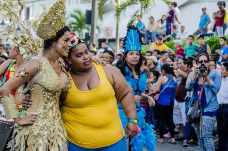 Orgullo LGBT Gay Ecuador Guayaquil 2015 - Asociación Silueta X con Diane Rodríguez DianeRodriguezz  (34)