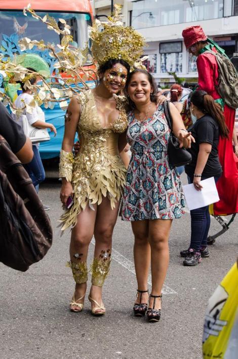 Orgullo LGBT Gay Ecuador Guayaquil 2015 - Asociación Silueta X con Diane Rodríguez DianeRodriguezz  (66)