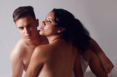 9 Fernando Machado primer hombre embarazado de forma natural y Diane Rodríguez sx